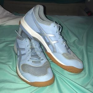 ASICS Blue Volleyball Shoes
